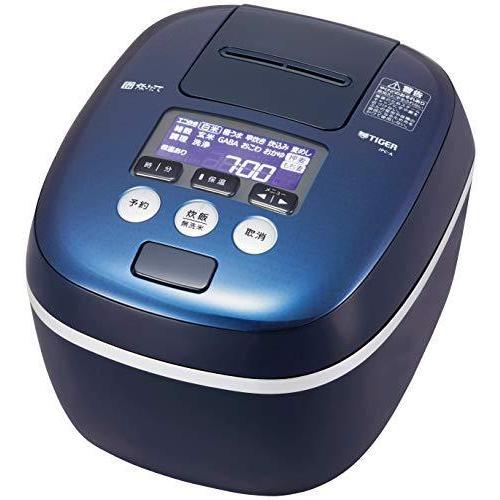 タイガー魔法瓶(TIGER)炊飯器 5.5合 圧力IH 土鍋コーティング 極うま機能付き 炊きたて ブルーブラック JPC-A101-KA