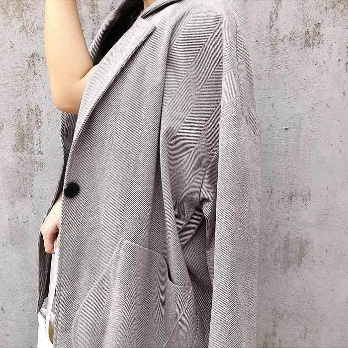 コート 軽い レディース 韓国 ラシャコート アウター 裏起毛 カジュアル ゆったり大きめ^jk108^|raspberryy|16