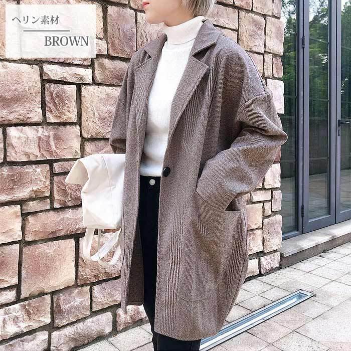 コート 軽い レディース 韓国 ラシャコート アウター 裏起毛 カジュアル ゆったり大きめ^jk108^|raspberryy|08