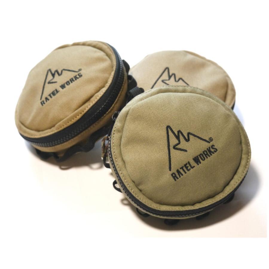 RATELWORKS ラーテル シェラカップケース シェラカップ マルチケース アウトドア キャンプ 登山 キャンプ用品 収納 ケース キャンバス 食器|ratelworks|06