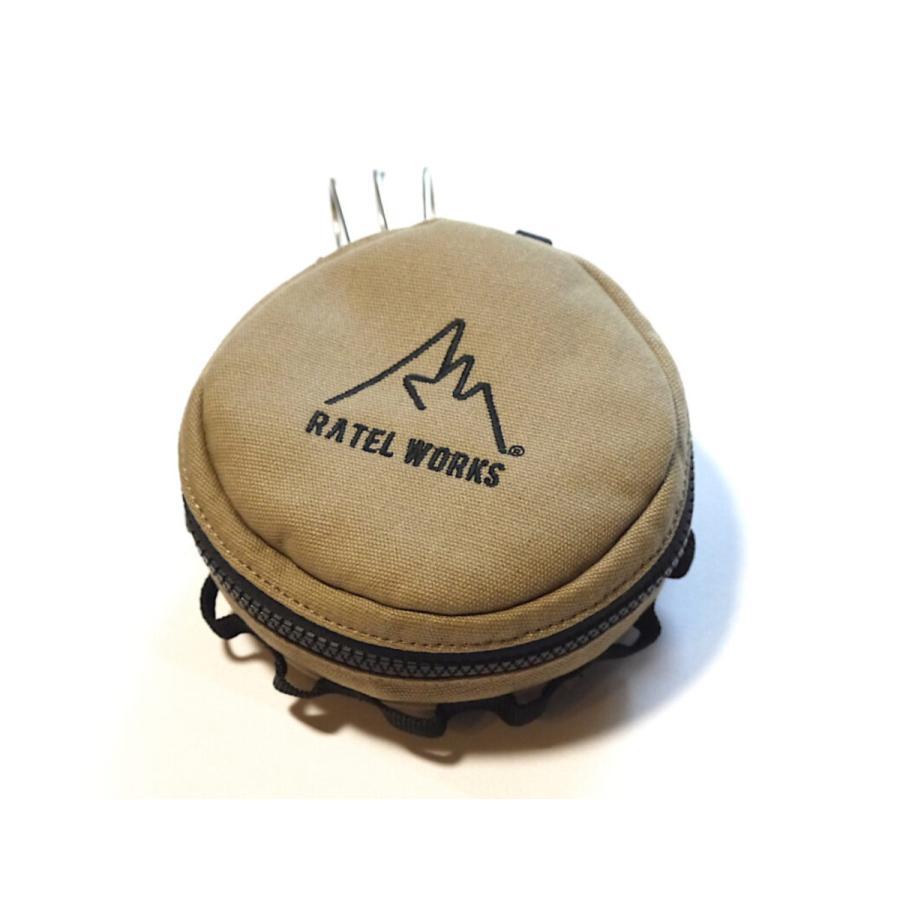 RATELWORKS ラーテル シェラカップケース シェラカップ マルチケース アウトドア キャンプ 登山 キャンプ用品 収納 ケース キャンバス 食器|ratelworks|08