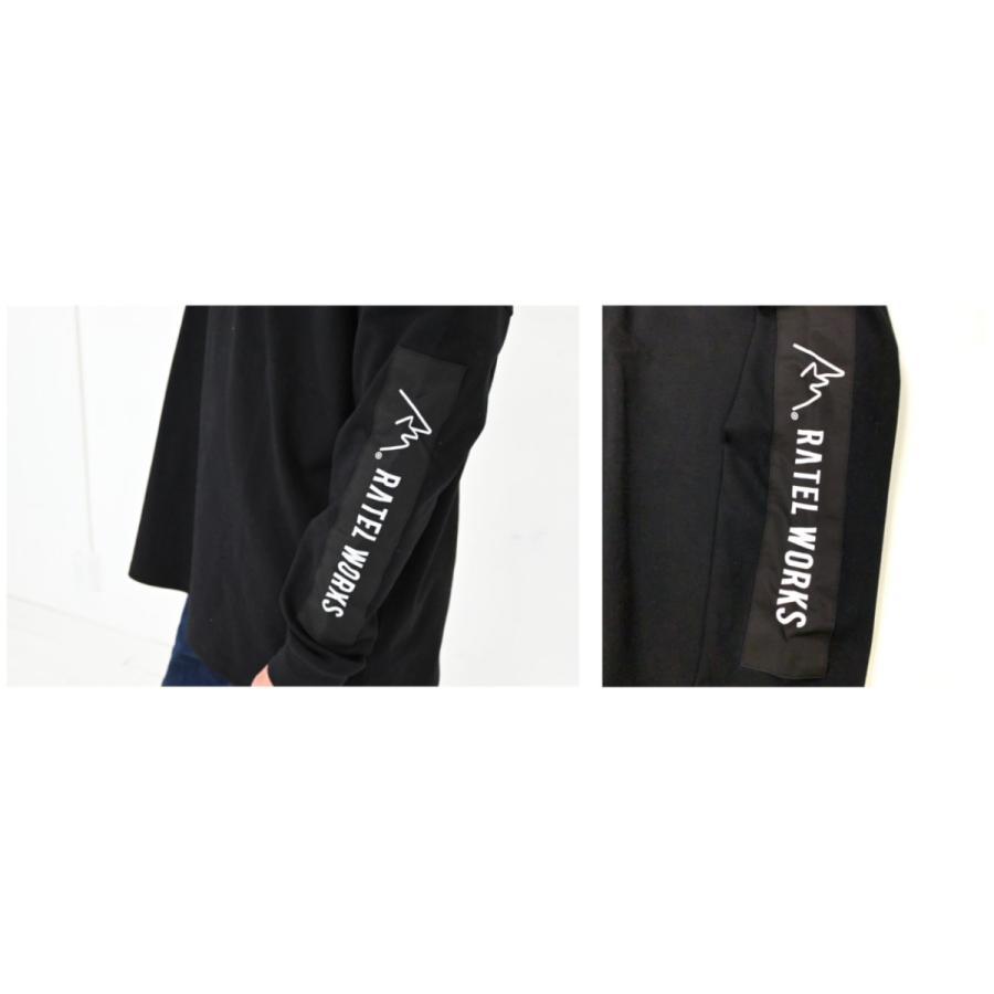 RATELWORKS ラーテルワークス Long sleeve box logo tee(ロングスリーブボックスロゴティー メンズ&レディース ユニセックス 男女兼用(RWS0022)|ratelworks|04