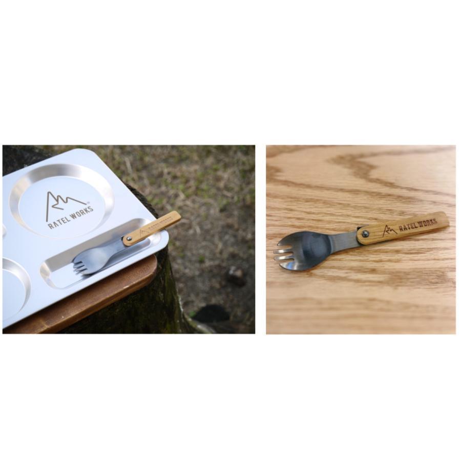 RATELWORKS ラーテルワークス Spoke Black スポーク ブラック  日本製  スプーン フォーク カトラリー キャンプ ウッド 木製 (RWS0026BK)|ratelworks|04