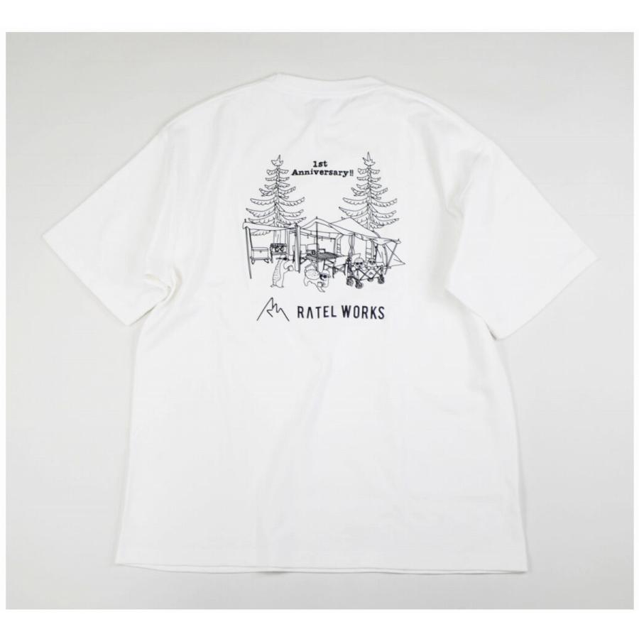 RATELWORKS ラーテルワークス 1TH ANNIVERSARY T-SHIRT(1周年記念Tシャツ) メンズ&レディース 男女兼用(RWS0046)|ratelworks