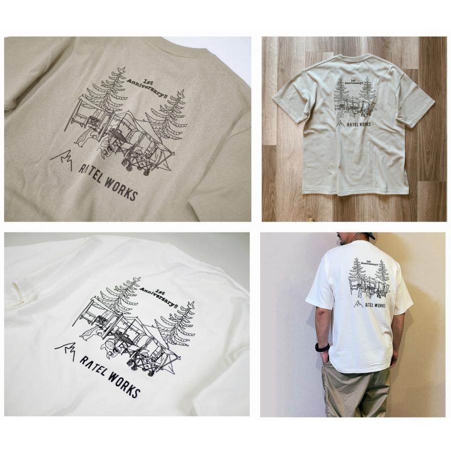 RATELWORKS ラーテルワークス 1TH ANNIVERSARY T-SHIRT(1周年記念Tシャツ) メンズ&レディース 男女兼用(RWS0046)|ratelworks|06