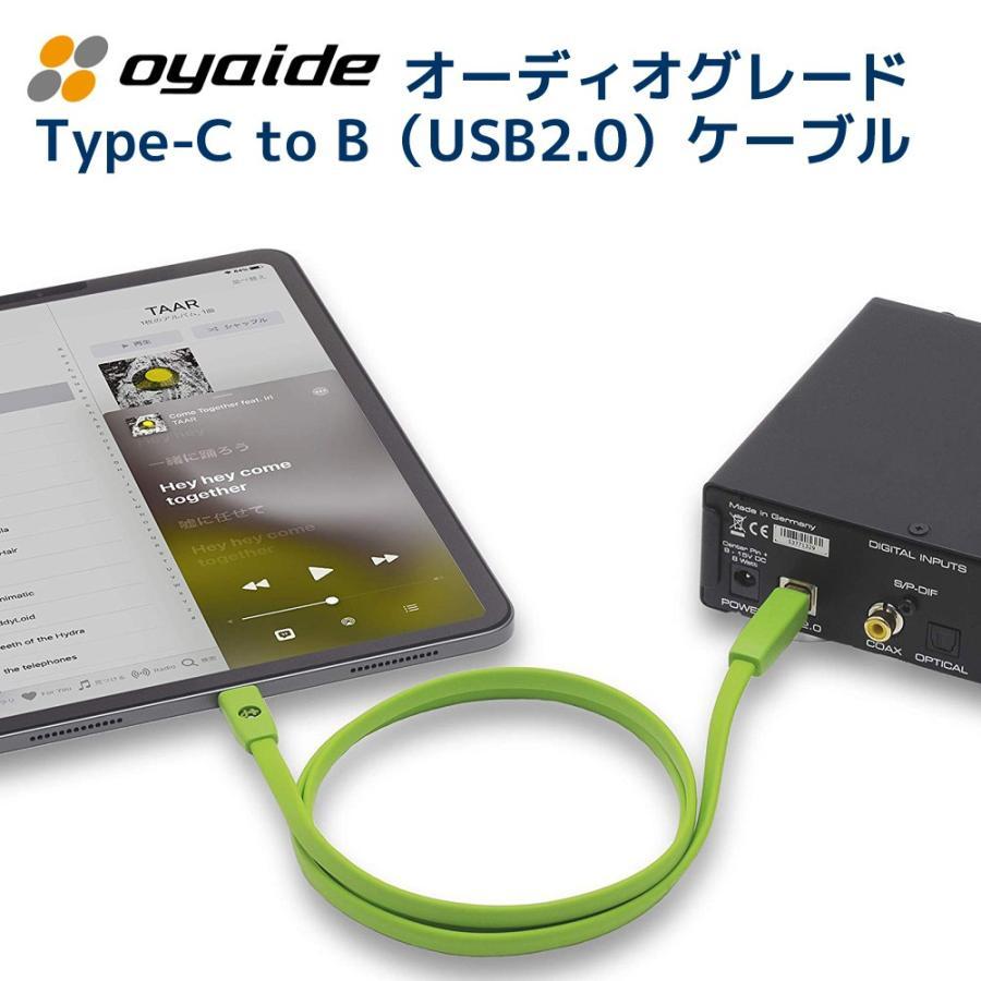OYAIDE オヤイデ電気製 USBケーブル d+USB Type-C Class B 2.0m|ratoc