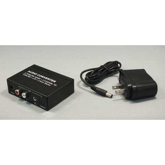 4入力3出力 オーディオコンバーター RP-ASW43 最大4台のデジタル音声をアナログや光デジタルに変換 4入力 3分配 ratoc 04