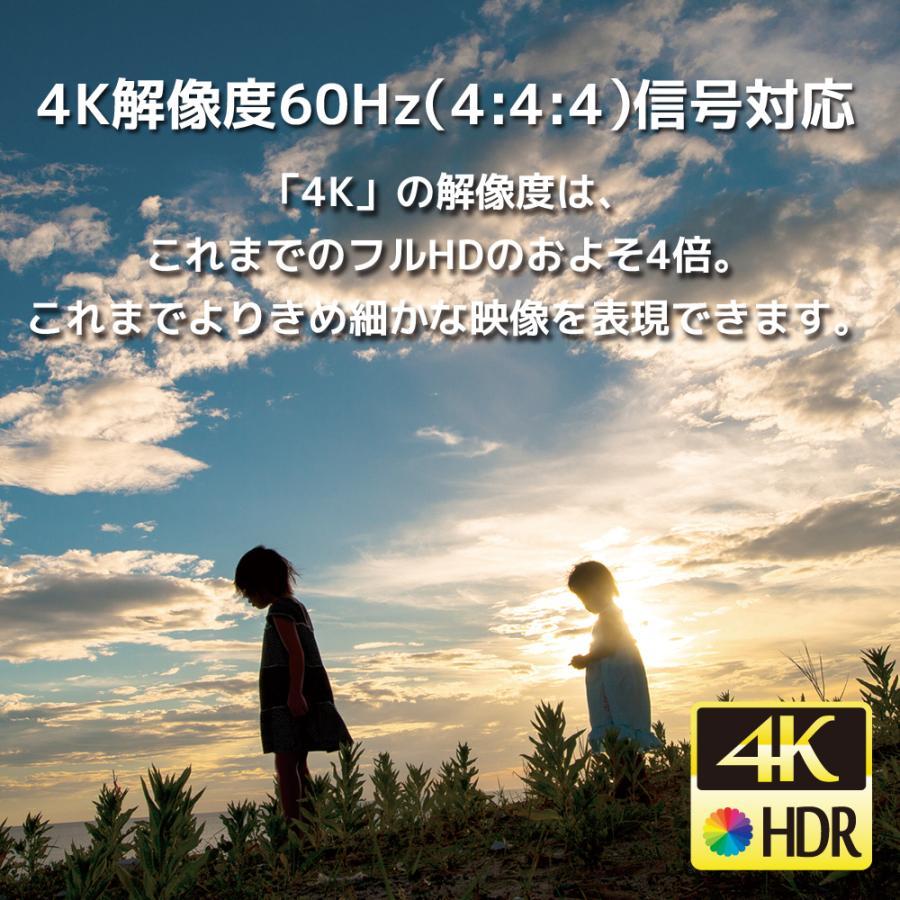 4K60Hz 対応 4入力1出力 HDMI 切替器 RS-HDSW41-4KA 120Hz Atmos DTS:X HDCP2.2 18Gbps HDR 4入力 リモコン セレクター|ratoc|03