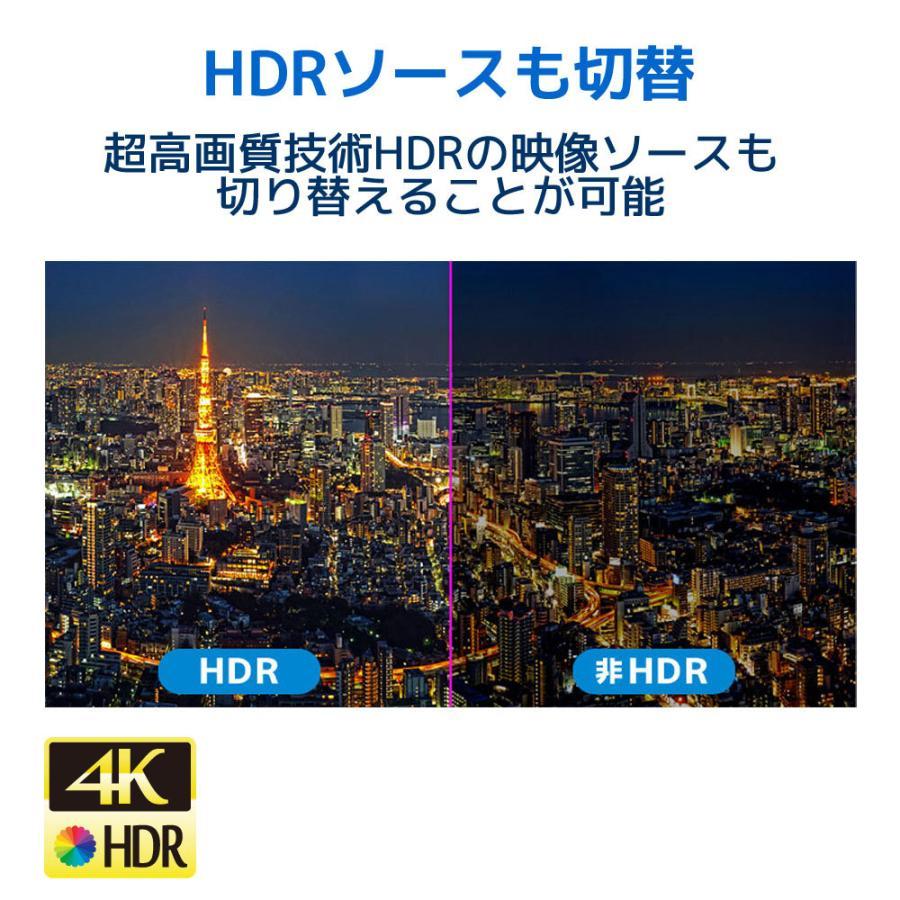 4K60Hz対応 4入力2出力HDMIマトリックススイッチ  RS-HDSW42-4K|ratoc|06