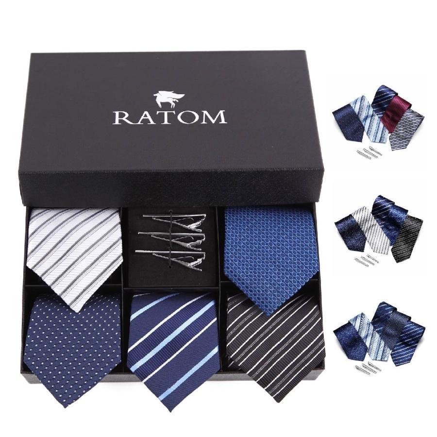 SALE ネクタイピン ネクタイ セット タイピン ギフト おしゃれ メンズ シンプル ブランド プレゼント フォーマル 人気 おすすめ ratom