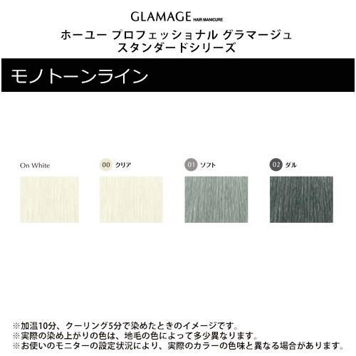 ホーユー プロフェッショナル グラマージュ スタンダードシリーズ ヘアマニキュア 150g モノトーンライン|hoyu professional glamage standard series|ray|02
