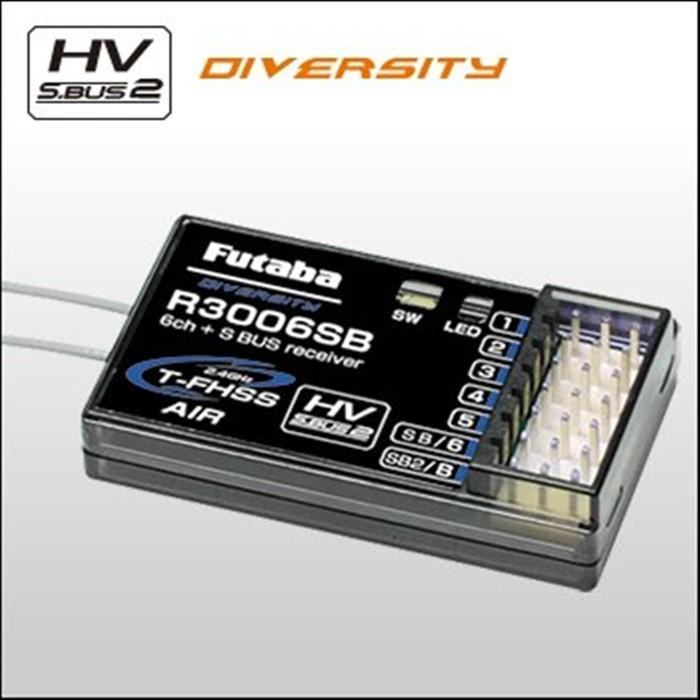 FUTABA R3006SB T-FHSS セットバラシ品 在庫数調整のため限定数量特価販売!