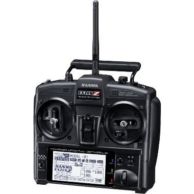 サンワ(SANWA)/101A31203A/EXZES Z 2.4Gプロポ(RX-472 PC/SSL)スティックタイプ