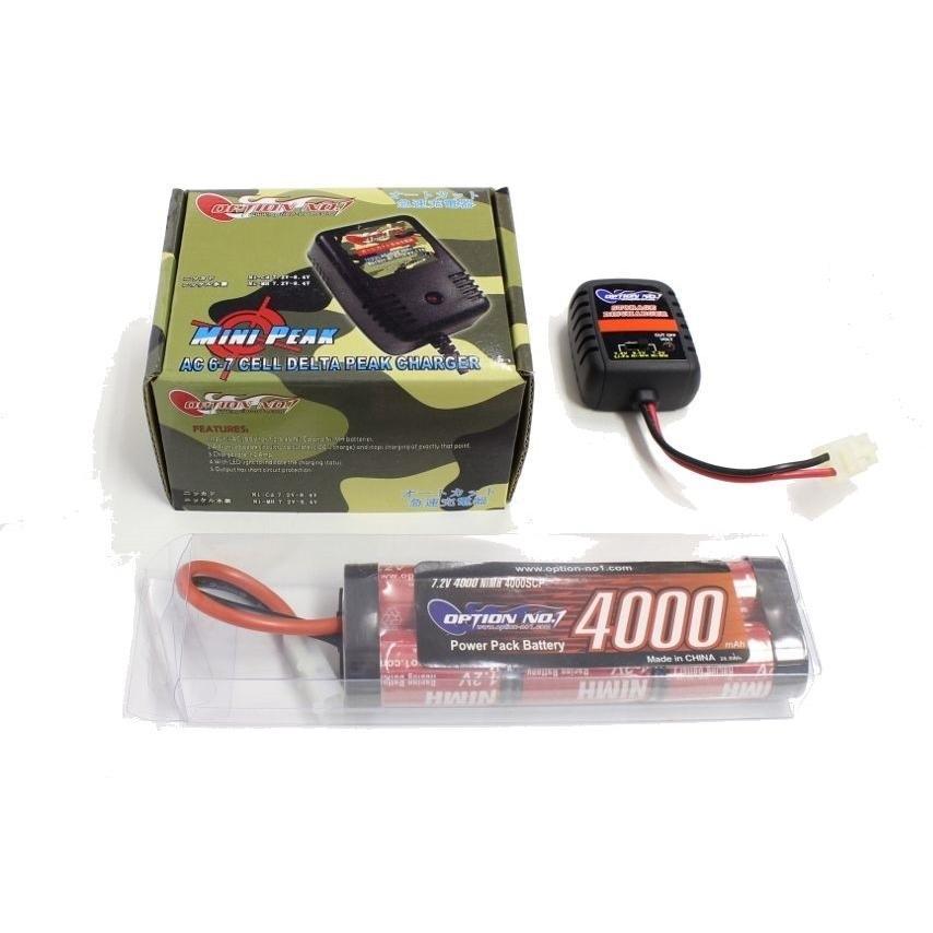 オリジナル EPS-D2 新発売 開催中 電動ラジコン用スタートパックD2 4000Ni-MHバッテリー+ストレージ放電器 AC急速充電器