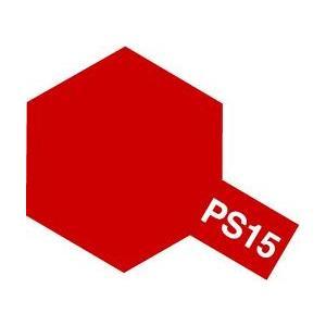 [再販ご予約限定送料無料] タミヤ 高品質 PS-15 メタリックレッド