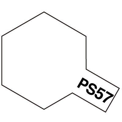 タミヤ 激安格安割引情報満載 PS-57 モデル着用 注目アイテム パールホワイト