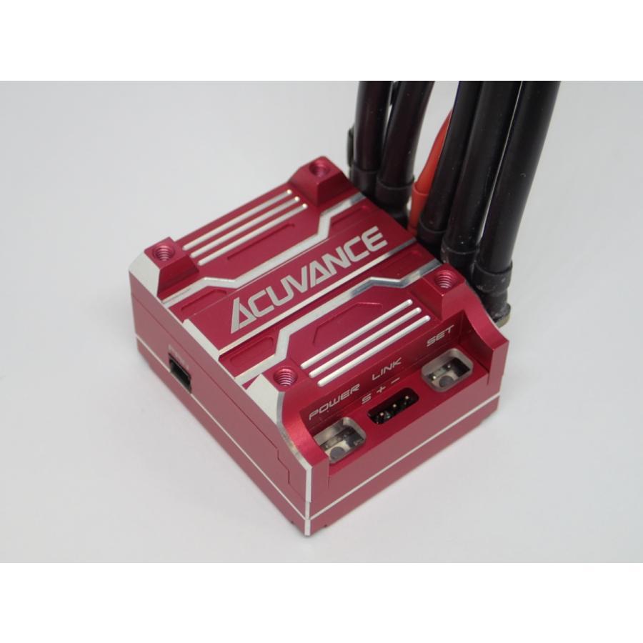 商品 アキュバンス ACUVANCE XX-XARVIS-RE 出荷 XARVIS XX ブラシレスESC RD レッド