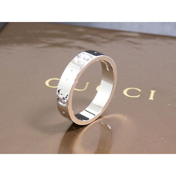 【税込】 グッチ gucci リング/指輪 k18 ホワイトゴールド 073230 13号, e-TATSUYA ea606b80