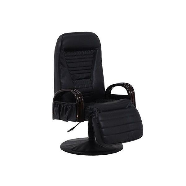 フロアチェア FLOOR FLOOR CHAIR 回転座椅子 LZ-4129BK (代引不可)