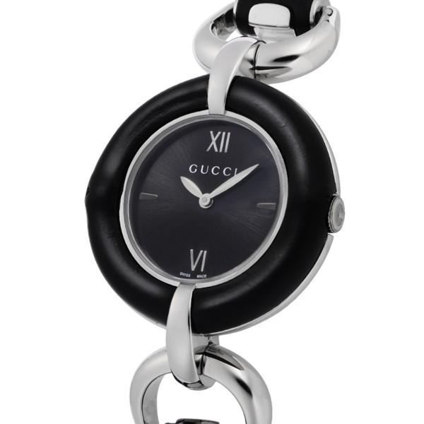『4年保証』 グッチ GUCCI バンブー クオーツ レディース 腕時計 YA132405 ブラック, NAKAGAWA1948セレクトショップ 0bfc817c