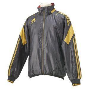 adidas(アディダス) ah459 adidas professional グラウンドコート 長袖 warm f44306 ブラック xo