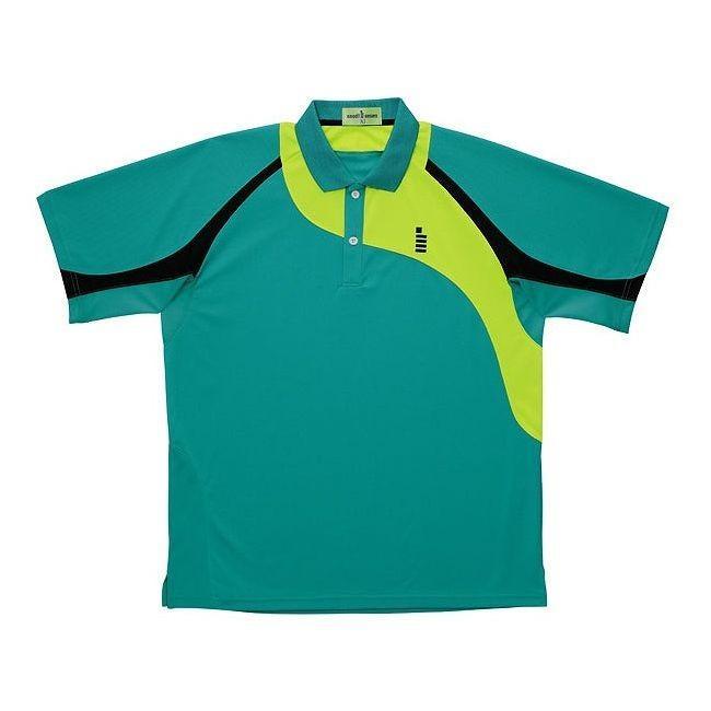 GOSEN ゴーセン T1410 ゲームシャツ T1410 カラー エメラルドグリーン サイズ L