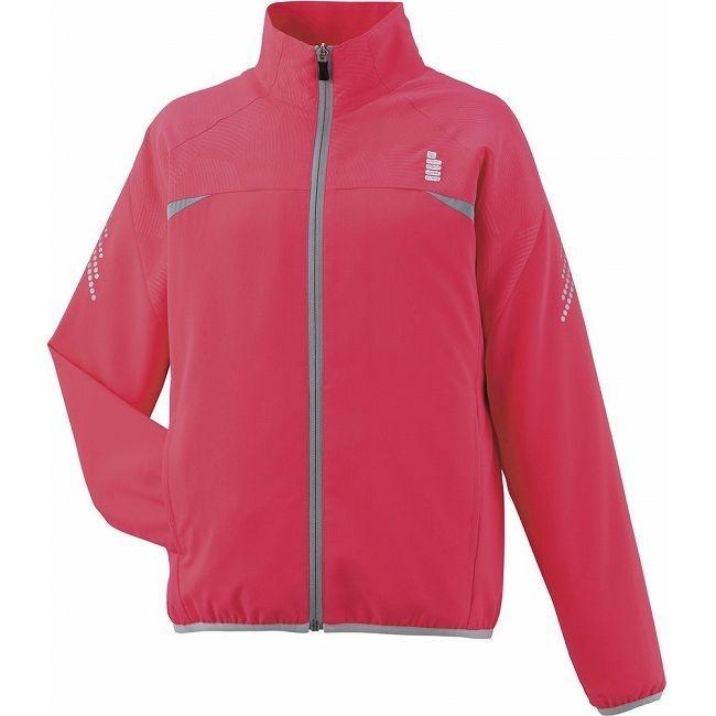 GOSEN ゴーセン Y1601レディースライトウィンドジャケット Y1601 カラー コーラルレッド サイズ XL