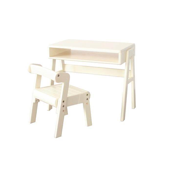 机 机 椅子 スタディーセット デスクチェアセット 子供用 リビング学習 デスクセット 白 収納付き 子供部屋 キッズ 代引不可