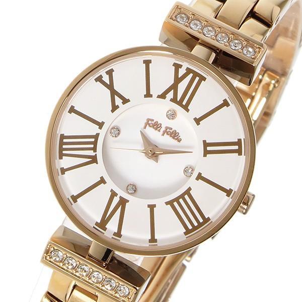 人気TOP フォリフォリ FOLLI FOLLIE ミニダイナスティ クオーツ レディース 腕時計 WF15B028BSW-XX ホワイト, ヒロショウe-shop fef66840