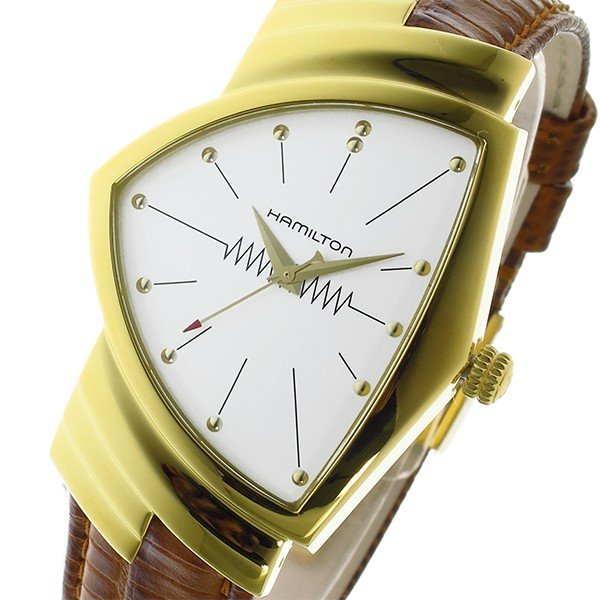 quality design 3c9eb 36c1d ハミルトン 腕時計 HAMILTON ベンチュラ クオーツ メンズ 腕時計 ...