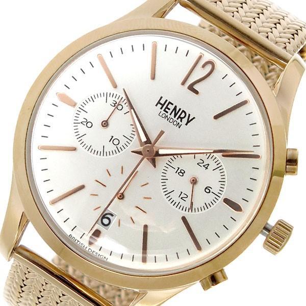最高 ヘンリー ロンドン クオーツ HENRYLONDON ロンドン クロノ クオーツ ヘンリー レディース 腕時計 HL39-CM-0034 ホワイトシルバー, 多治見市:b33fa99f --- airmodconsu.dominiotemporario.com