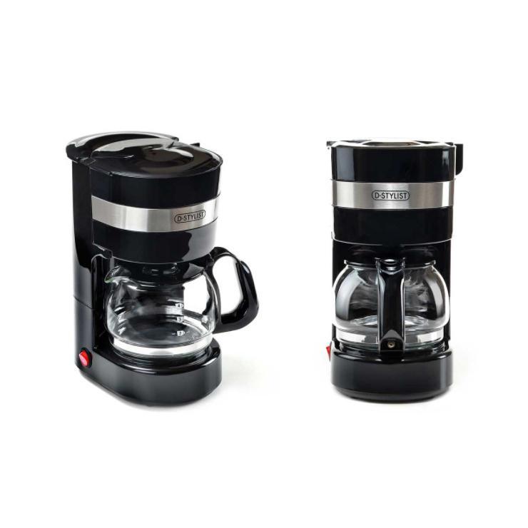 ドリップコーヒーメーカー 約650ml メッシュフィルター 保温機能 自動OFF機能 珈琲 コンパクト CF-02 KDCF-002B 簡単 rcmdhl 14