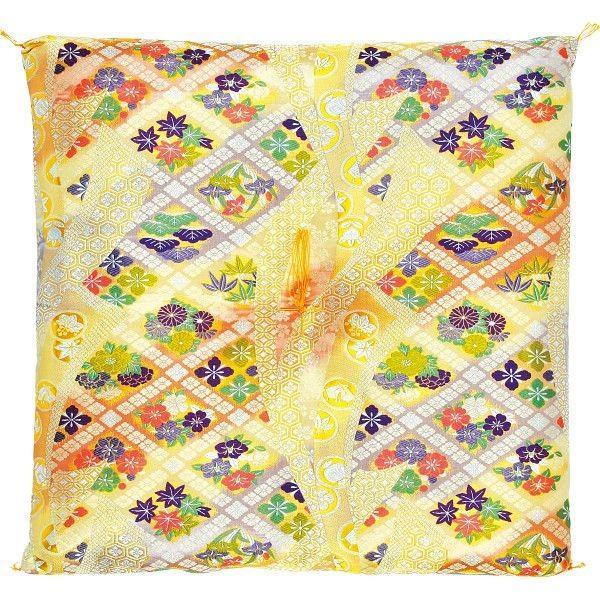 西陣織御前座布団 繊維雑貨 繊維雑貨 座布団 西陣織ゆかり68×70 代引不可
