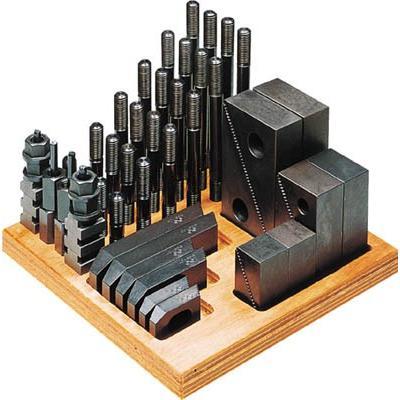 スーパーツール クランピングキット M16 T溝:18 S1816-CK ツーリング·治工具·クランプ 工作機械用