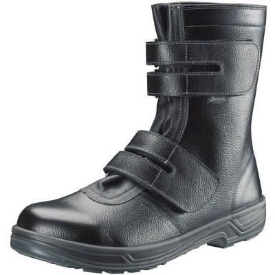 シモン 安全靴 長編上靴マジック式 SS38黒 25.0cm SS38-25.0 安全靴・作業靴・安全靴