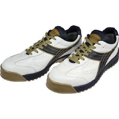 ディアドラ DIADORA DIADORA DIADORA 安全作業靴 ピーコック 白/黒 24.5cm PC12-245 安全靴・作業靴・プロテクティブスニーカー 70c