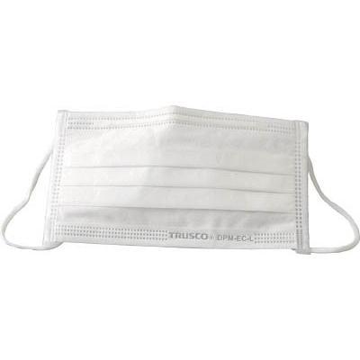 TRUSCO エコマスク 2500枚入 DPM-EC-L-2500 保護具・一般作業用マスク