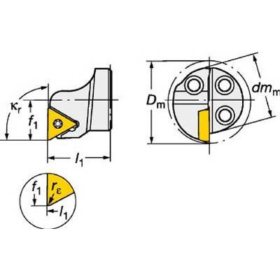 サンドビック コロターンSL コロターン111用カッティングヘッド 570-STFPL-20-11 旋削・フライス加工工具・ホルダー