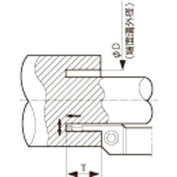 京セラ 京セラ 京セラ 溝入れ用ホルダ KFMSL2525M3040-3 旋削・フライス加工工具・ホルダー 048