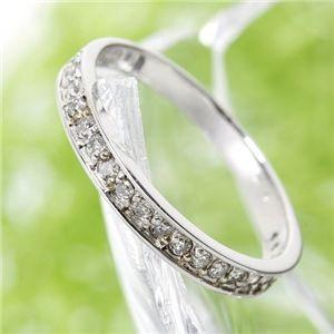 激安な 0.2ct ダイヤリング 指輪 エタニティリング 7号, モトヨシグン 719a6717