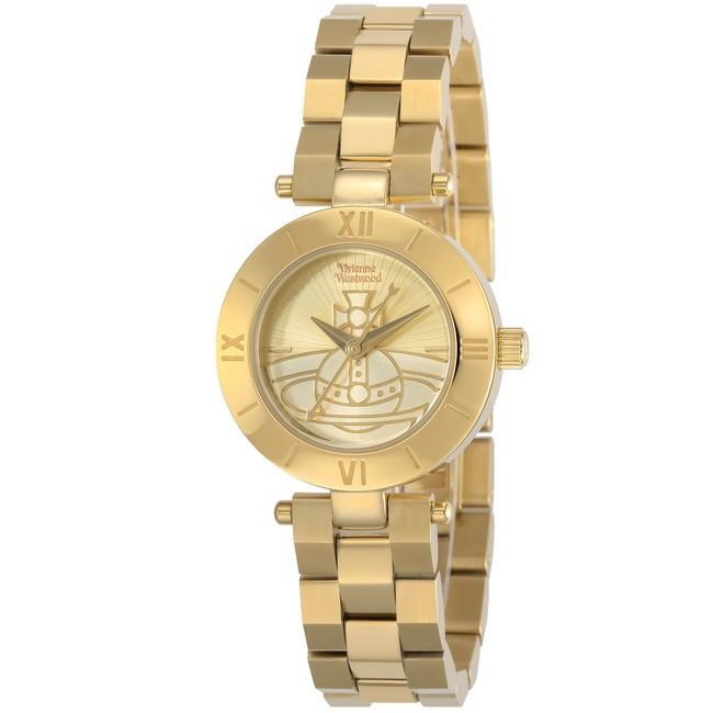 速くおよび自由な VivienneWestwood ヴィヴィアン・ウエストウッド VV092CPGD ブランド 時計 腕時計 レディース 誕生日 プレゼント ギフト カップル, フクシマチョウ 77ebaac2