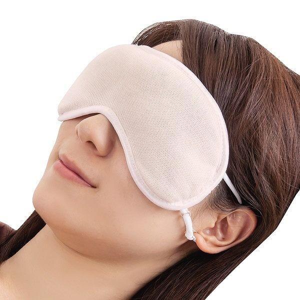 潤いシルクのふんわりアイマスク ポーチ付き キナリ|rcmdhl