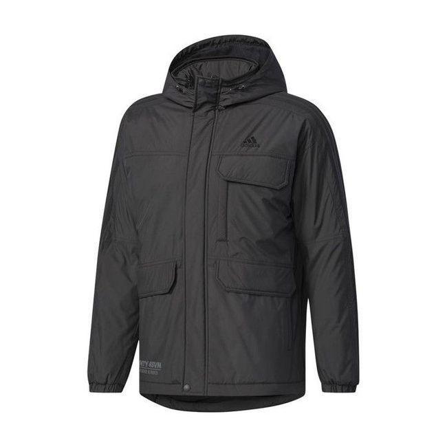 adidas アディダス M adidas 24/7 中綿ウインドブレーカージャケット DUQ95 カラー ブラック サイズ J/O