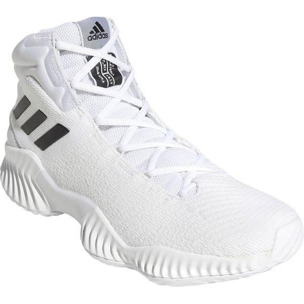 アディダスット シューズ 22.5cm Basketball PRO BOUNCE 2018 ランニングホワイト×コアブラック×クリスタルホワイト AC7429