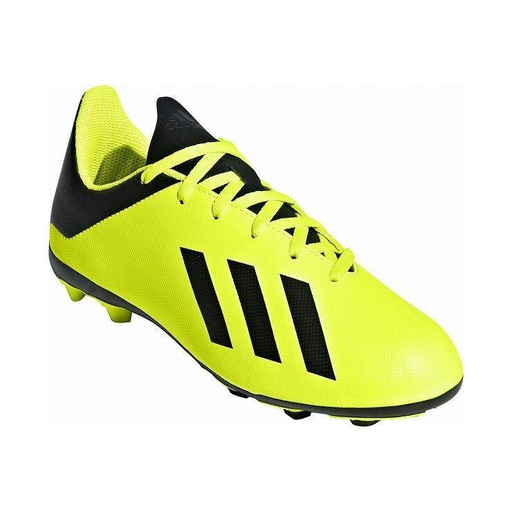 アディダス フットボールシューズ 23.5cm adidas エックス 18.4 AI1 J スパイク サッカー オールラウンダー 土用 芝用 DB2420