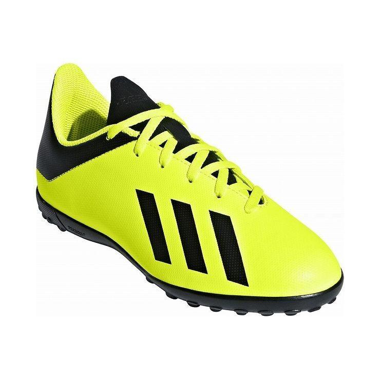 アディダス フットボールシューズ 20.5cm adidas Football エックス タンゴ 18.4 TF J スパイク サッカー 土用 人工芝用 DB2435