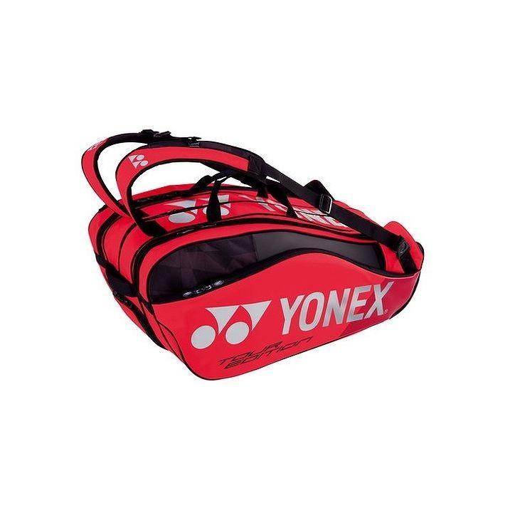 入荷中 Yonex ヨネックス カラー ヨネックス テニス9本用 PRO SERIES ラケットバッグ9 リュック付 テニス9本用 BAG1802N カラー フレイムレッド, アデ川質店 新田店:ccb0154c --- airmodconsu.dominiotemporario.com