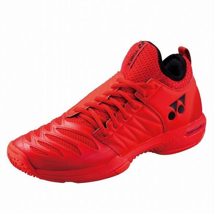 Yonex サイズ 28.0 テニスシューズ POWER CUSHION FUSIONREV3 MEN GC SHTF3MGC カラー レッド