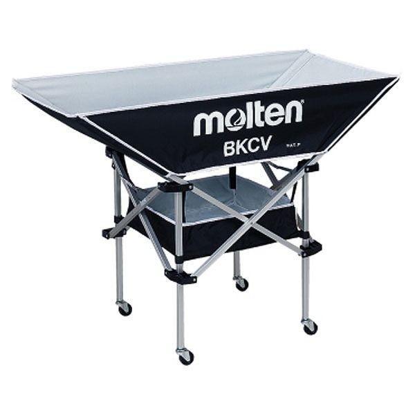 【予約受付中】 モルテン Molten Molten 折りたたみ式平型軽量ボールカゴ 黒 背低 BKCVLBK 黒 BKCVLBK, 優然 racketty:064882cd --- airmodconsu.dominiotemporario.com