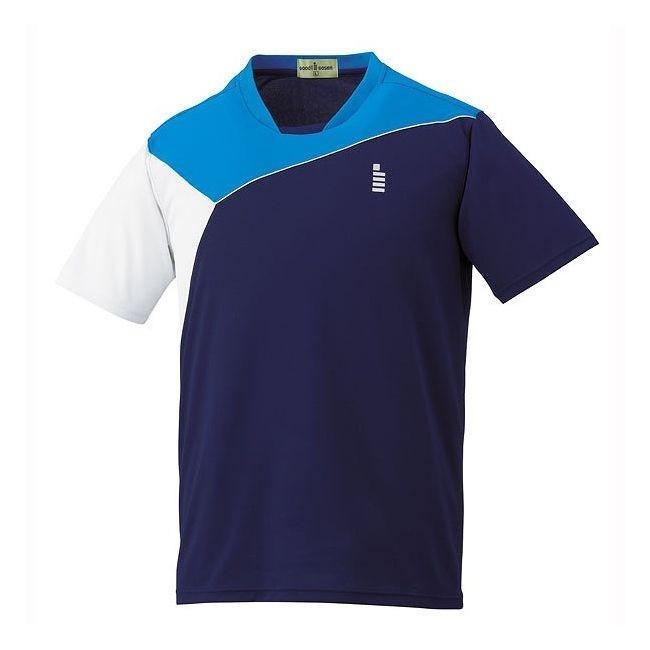 GOSEN ゴーセン ゲームシャツ T1506 カラー ネイビー サイズ M